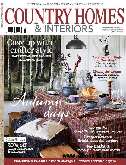 Country Homes & Interiors Magazine November 2013 free download
