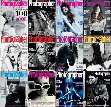 Professional Photographer Magazine (UK) 2013 Full Collection free download