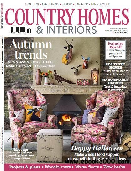 Country Homes & Interiors Magazine October 2013 free download