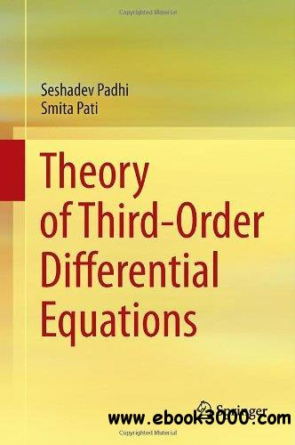 Theory of Third-Order Differential Equations free download