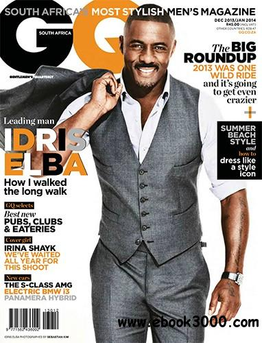 GQ South Africa - December 2013-January 2014 free download