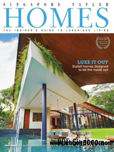 Singapore Tatler Homes Magazine - April May 2013 free download