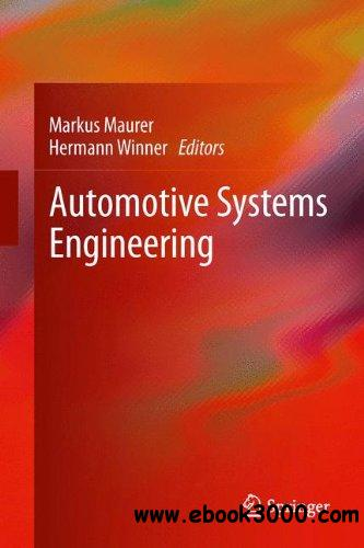 Automotive Systems Engineering free download
