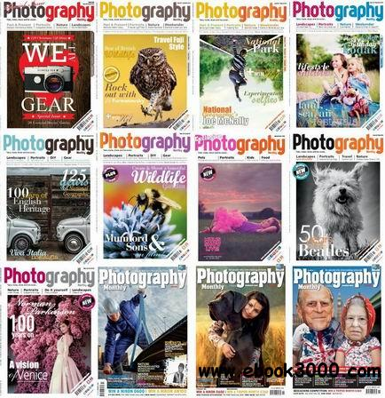 Photography Monthly Magazine 2013 Full Collection free download