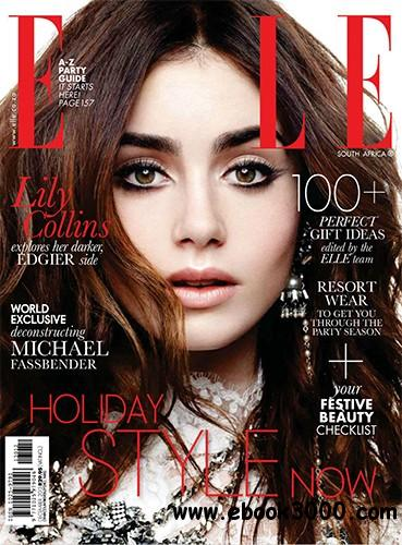 Elle South Africa - December 2013 free download