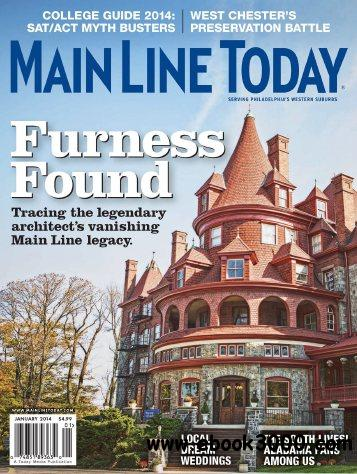 Main Line Today - January 2014 free download