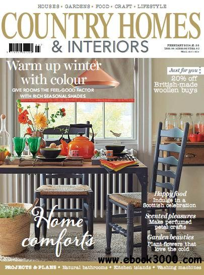 Country Homes & Interiors Magazine February 2014 free download