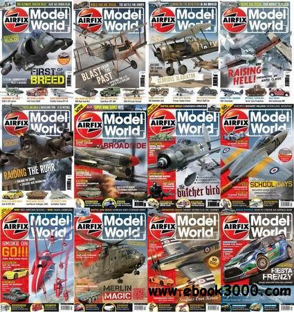 Airfix Model World Magazine 2012-2013 Full Collection free download