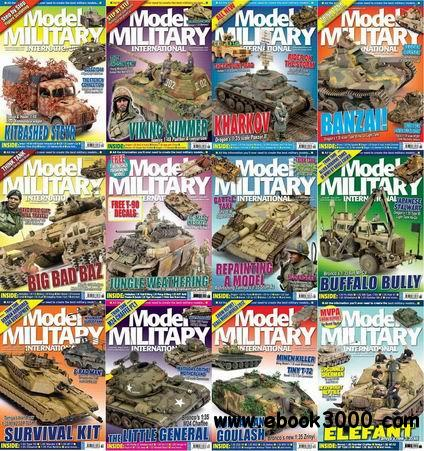 Model Military International Magazine 2013 Full Collection free download