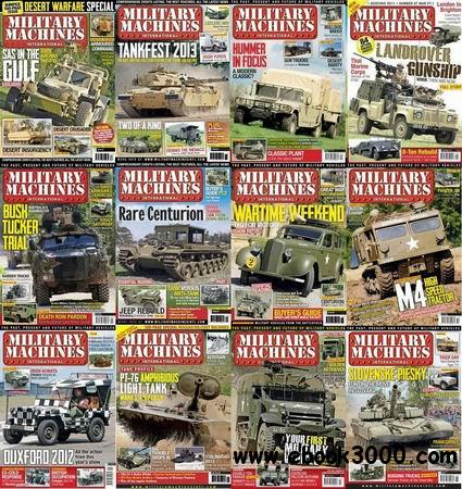 Military Machines International Magazine 2012-2013 Full Collection free download