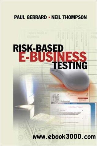 Risk Based E-Business Testing free download