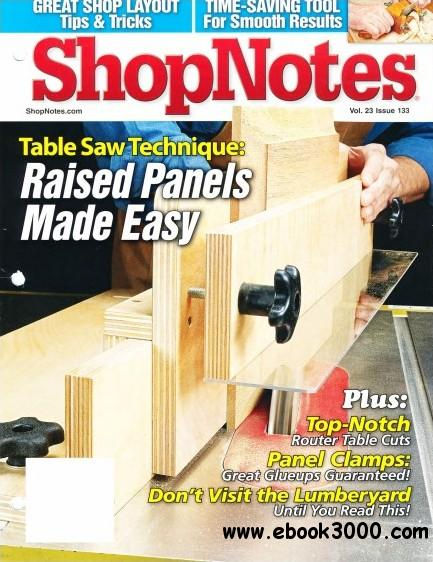 ShopNotes Issue #133 (January-February 2014) free download