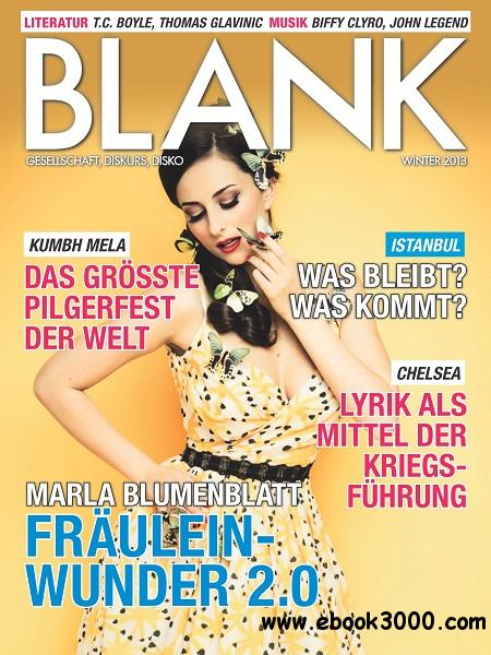 Blank - Winter 2013 free download