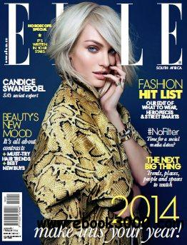 Elle South Africa - January 2014 free download