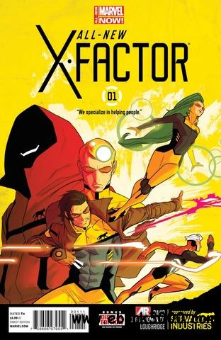 All-New X-factor 001 (2014) free download