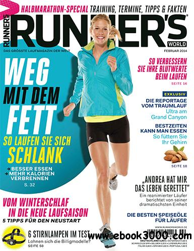 Runner's World Germany - Februar 2014 free download