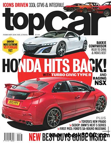 topCar South Africa - February 2014 free download
