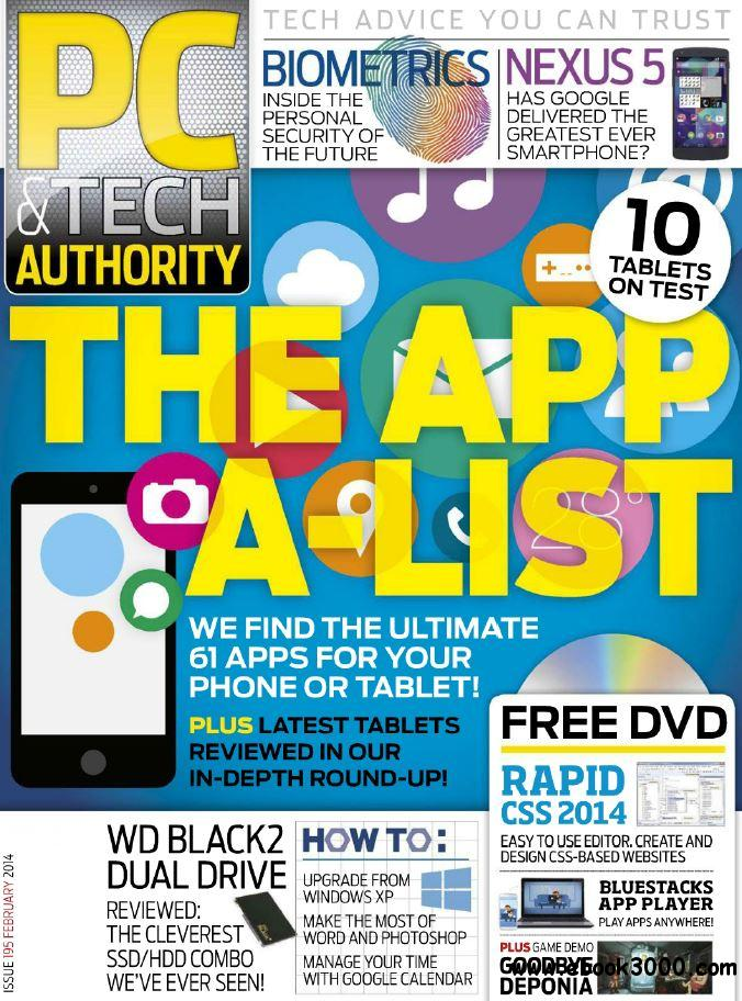PC & Tech Authority Issue N 195 - February 2014 free download