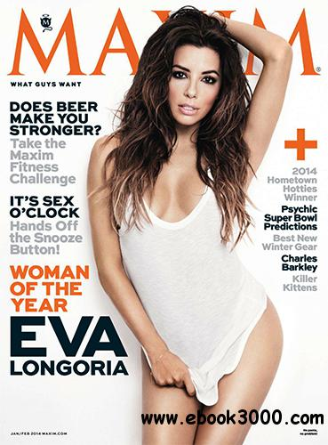 Maxim USA - January-February 2014 free download