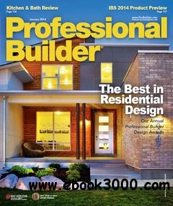 Professional Builder - January 2014 free download