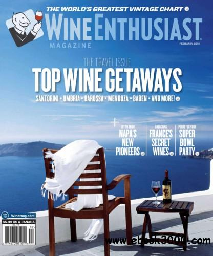 Wine Enthusiast - February 2014 free download