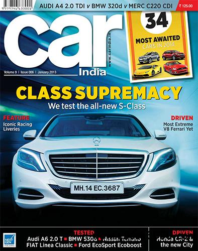 Car India - January 2014 free download