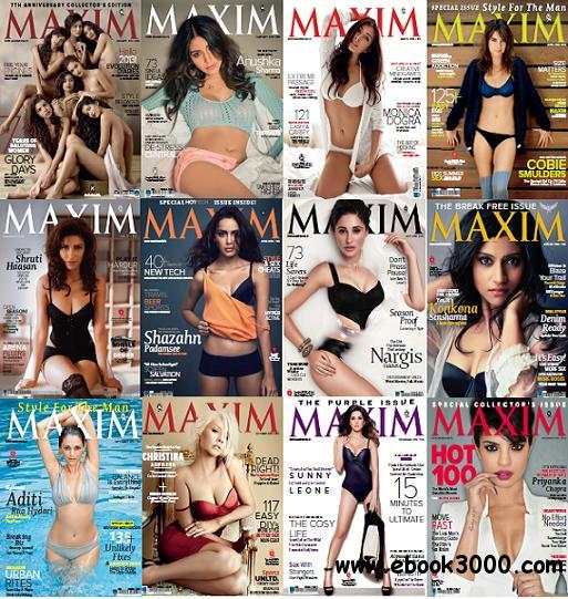 Maxim India - Full Year Collection 2013 free download