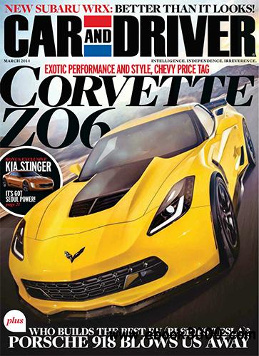 Car and Driver - March 2014 free download