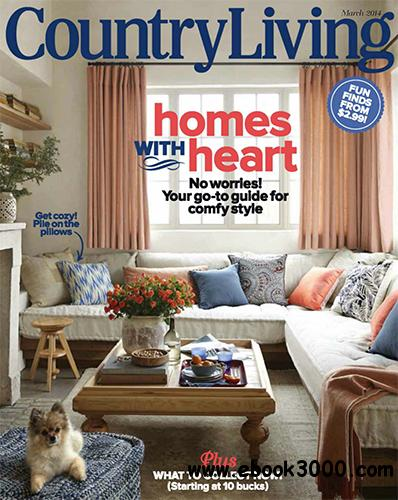 Country Living USA - March 2014 free download