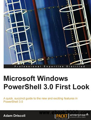 Microsoft Windows PowerShell 3.0 First Look free download