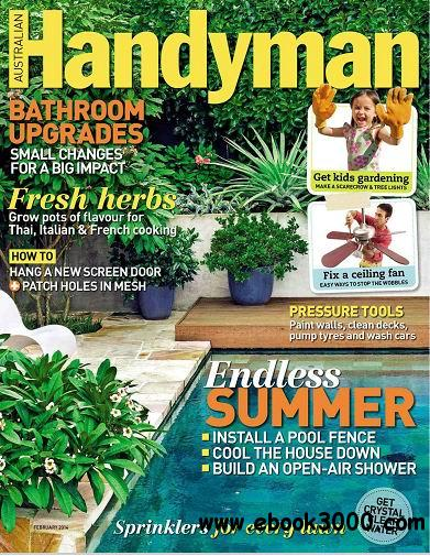 Australian Handyman Magazine February 2014 free download