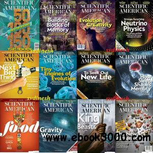 Scientific American - Full Year 2013 Issues Collection free download