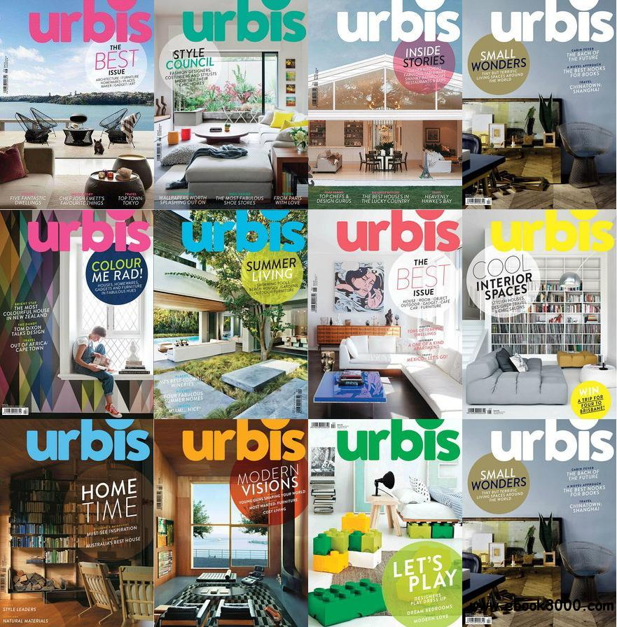 Urbis Magazine 2012-2013 Full Collection free download