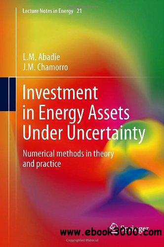 Investment in Energy Assets Under Uncertainty: Numerical methods in theory and practice free download