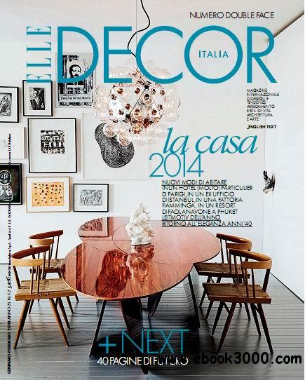 Elle Decor Italia - January/February 2014 free download