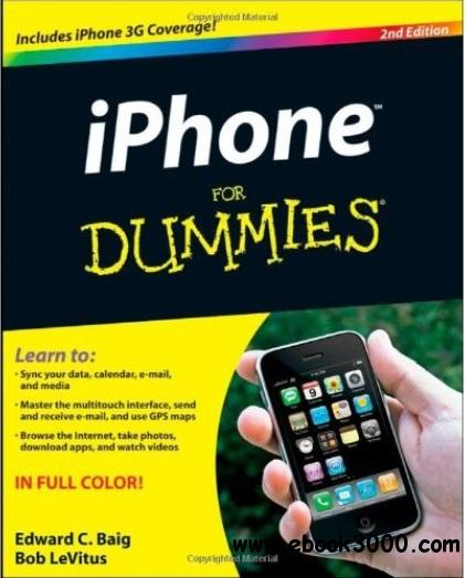 iPhone For Dummies (2nd edition) free download