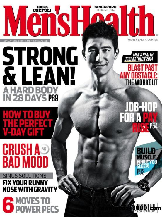 Men's Health Singapore - February 2014 free download