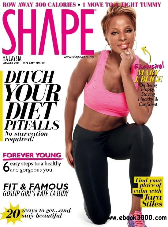 Shape Malaysia - January 2014 free download