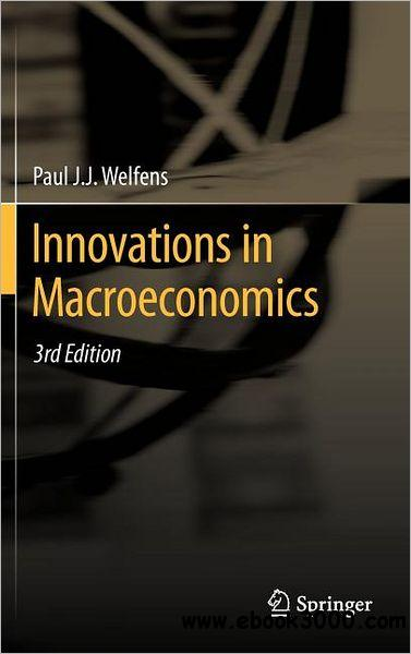 Innovations in Macroeconomics, 3rd Edition free download