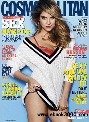 Cosmopolitan USA - March 2014 free download
