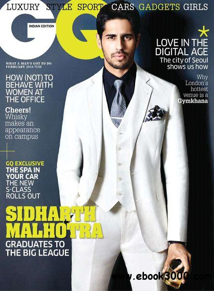 GQ India - February 2014 free download