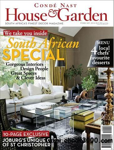 Conde Nast House & Garden Magazine February 2014 free download