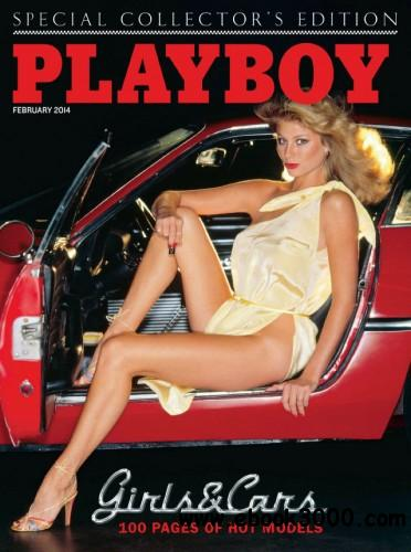 Playboy Special Collector' Edition Girls and Cars - February 2014 free download
