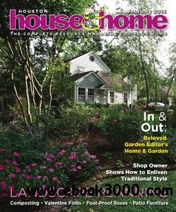 Houston House & Home - February 2014 free download