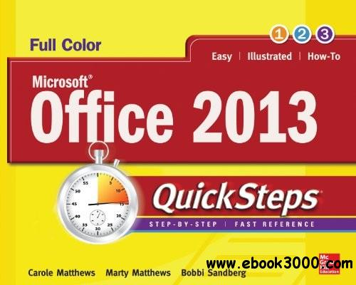 Microsoft Office 2013 QuickSteps, 3rd Edition free download