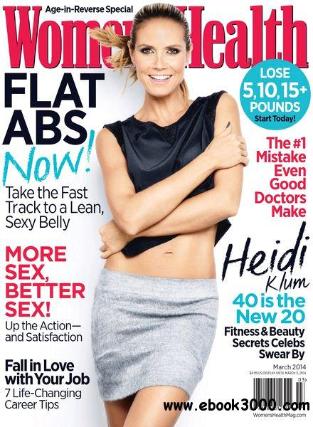 Women's Health USA - March 2014 free download