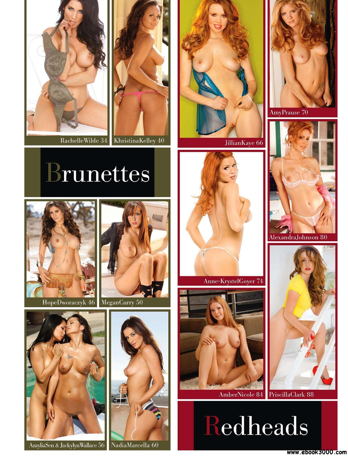 Playboy's Blondes, Brunettes, and Redheads - 2011 free download