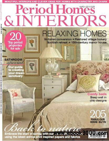 Period Homes & Interiors Magazine March 2014 download dree