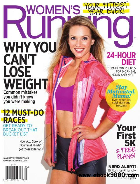 Womens Running January-February 2014 free download