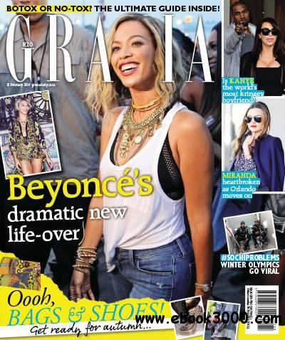 Grazia - 19 February 2014 / South Africa free download